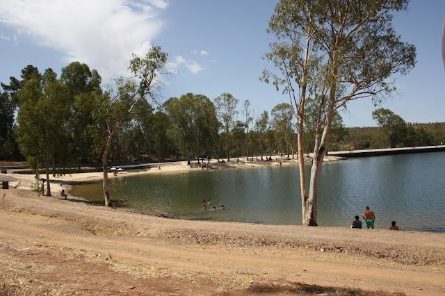 Praia fluvial Mina de São Domingos