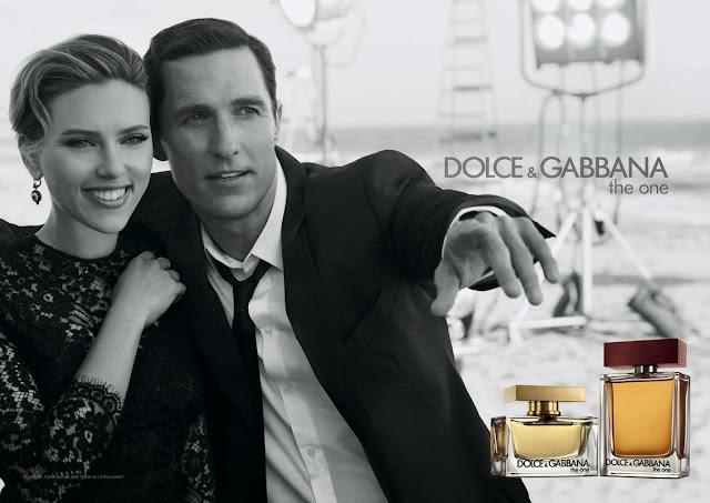 Scarlett Johansson y Matthew McConaughey son imagen de la nueva campaña Dolce & Gabbana The one