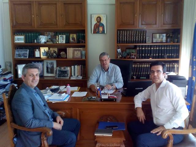 Άρτα: Συνεργασία Δημάρχου Αρταίων με Αλ. Καχριμάνη για ζητήματα που αφορούν την Άρτα