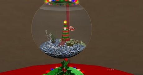 Betta Fish Christmas Ornaments