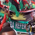 Biafra: Protesters storm British High Commission, insist UK must produce Kanu to face trial in Nigeria