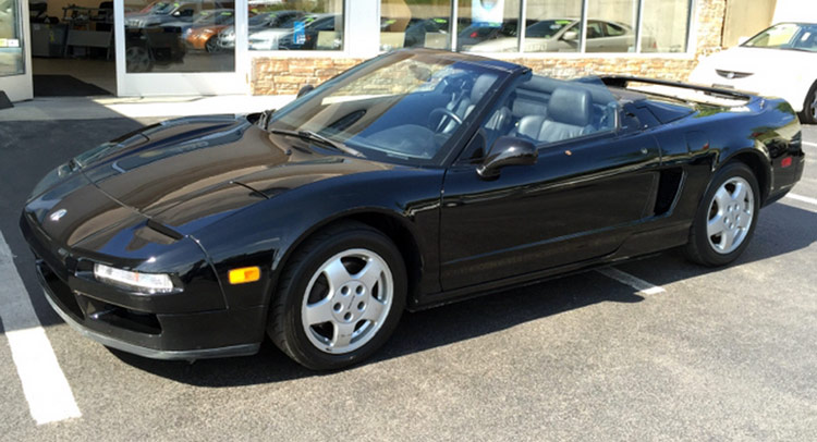 For The Pipe Price Of 50k This Nsx Convertible Can Be Yours
