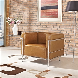 Modway Contemporary Leather Armchair