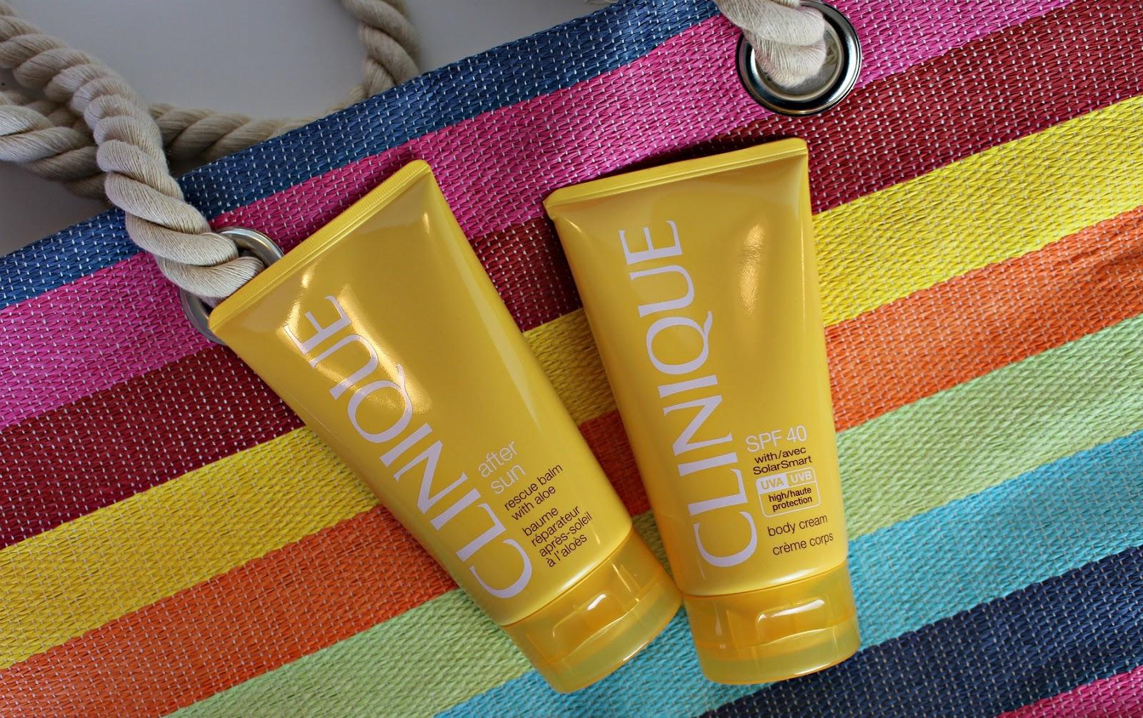Clinique zonnecrème en aftersun
