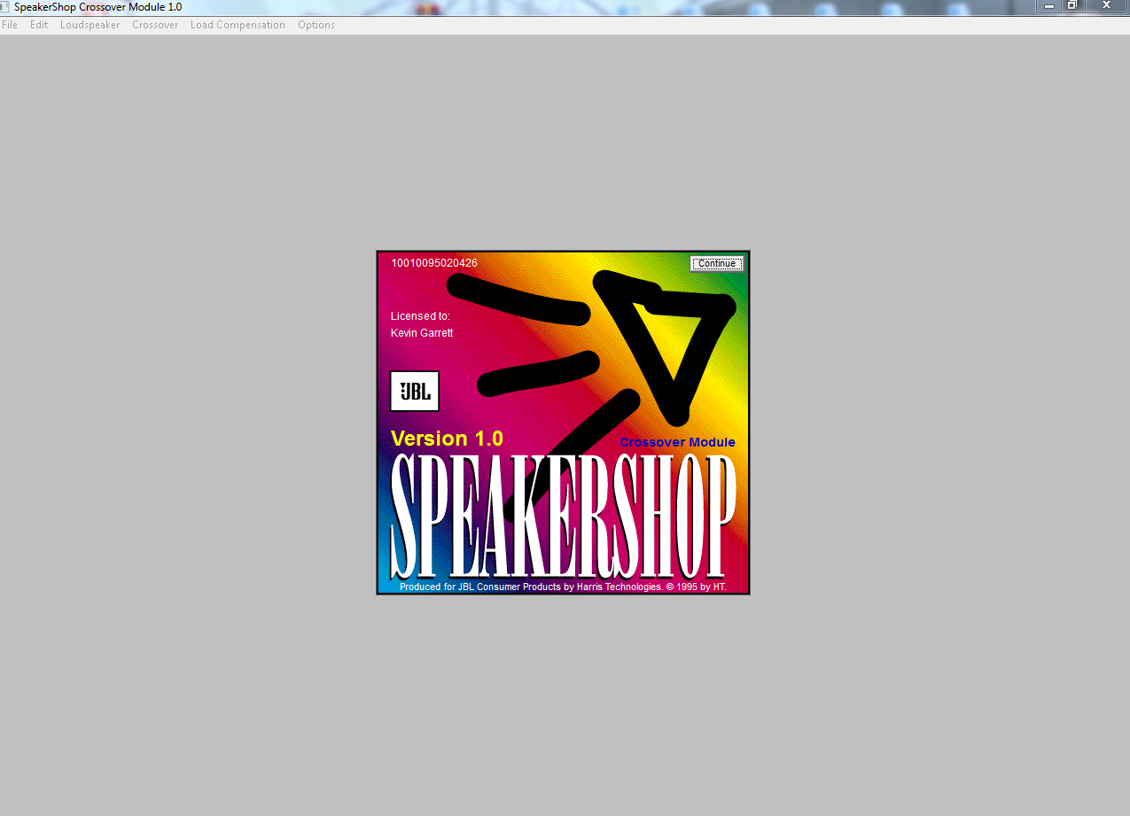 Download JBL Speakershop, Software Gratis Untuk Menghitung Subwoofer dan Sistem Speaker