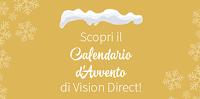 Logo Vinci buoni Amazon da 250 euro con il Calendario dell'Avvento VisionDirect