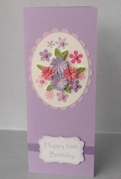 90th Birthday Card Ideas
