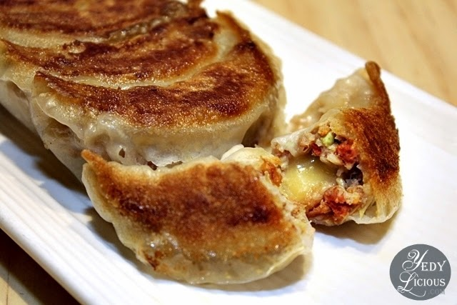 Bacon and Cheese Gyoza at Osaka Ohsho PH