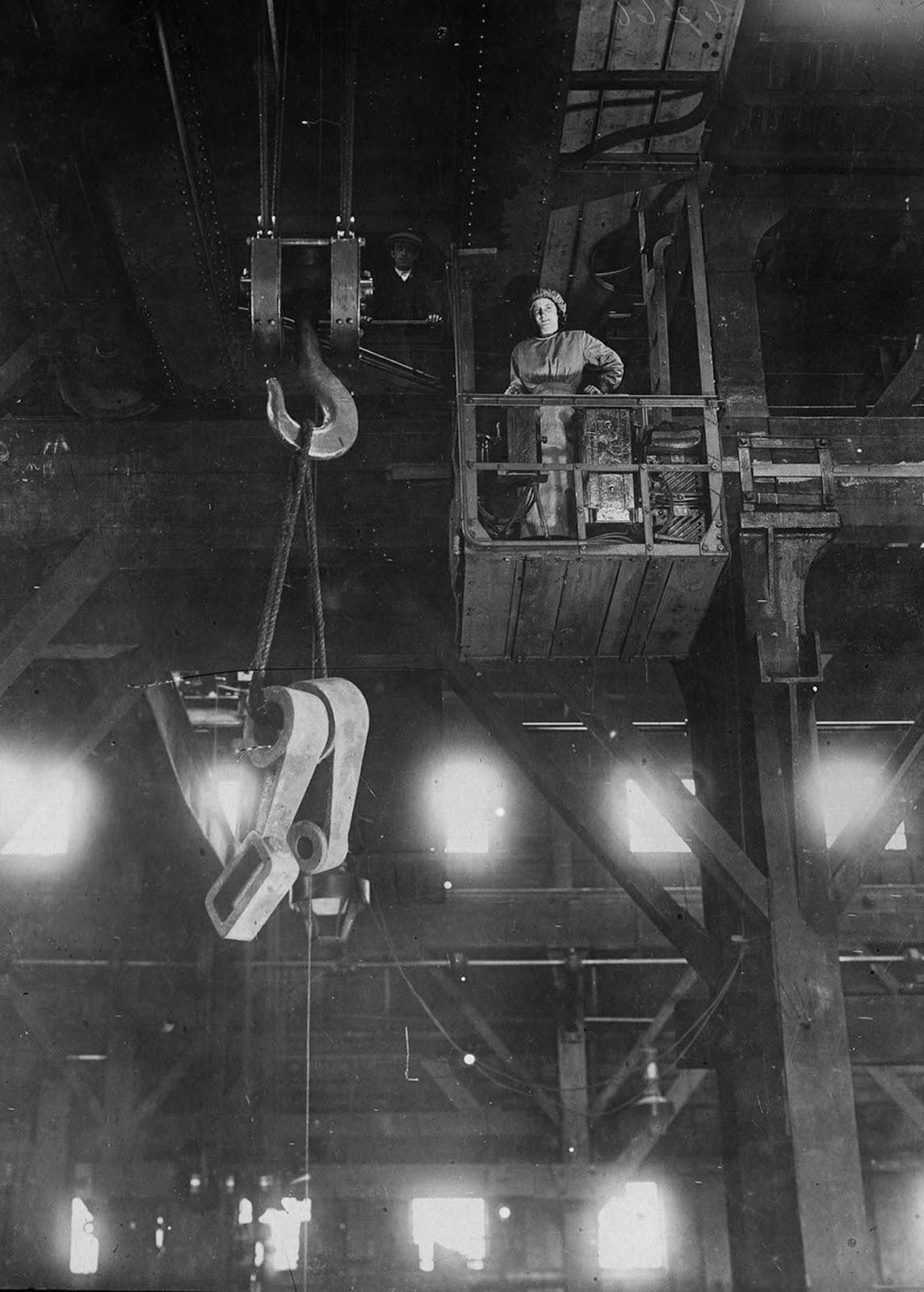 A crane driver.