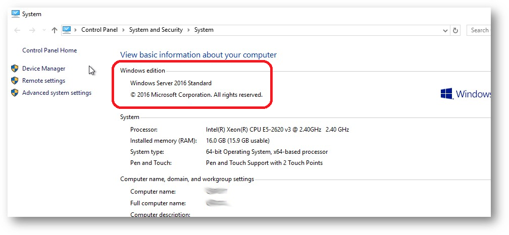 HACK: How to downgrade Windows 2016 Datacenter to Standard