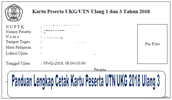 Peserta UTN/UKG 2018