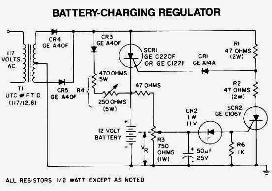 automatic battery charger circuit basic electronic project basic