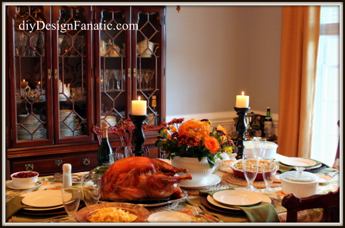 tablescape, thanksgiving