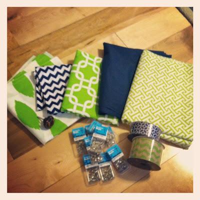 Boys' Room Fabric etc.