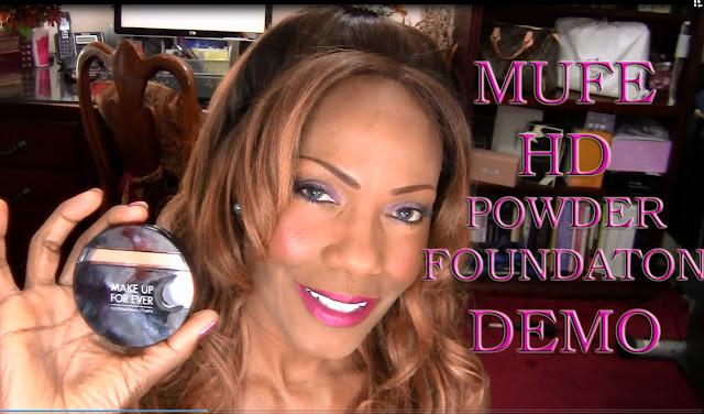 MUFE Duo Mat HD Powder Foundation + Video