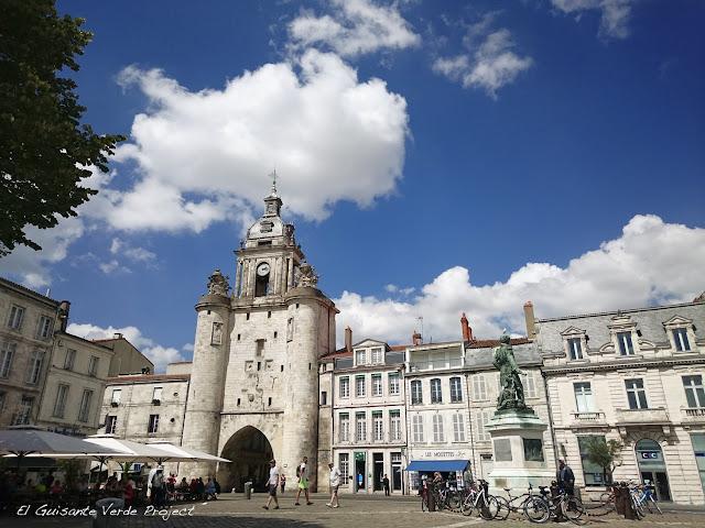 Grosse Horloge - La Rochelle, por El Guisante Verde Project