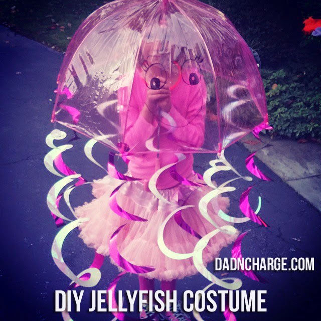 For The Love of Jellyfish  A DIY Halloween Costume & DadNCharge: For The Love of Jellyfish : A DIY Halloween Costume