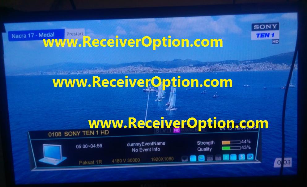 ECHQLINK T9 HIGH CLASS HD RECEIVER POWERVU KEY SOFTWARE NEW