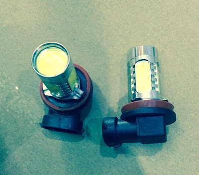 Aksesoris Honda HR-V - Bulb LED Fog Lamp Plug and Play