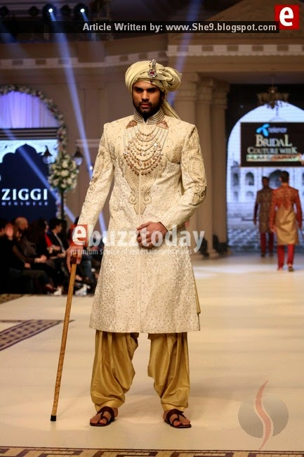 Ziggi Mens Sherwani at TBCW2014