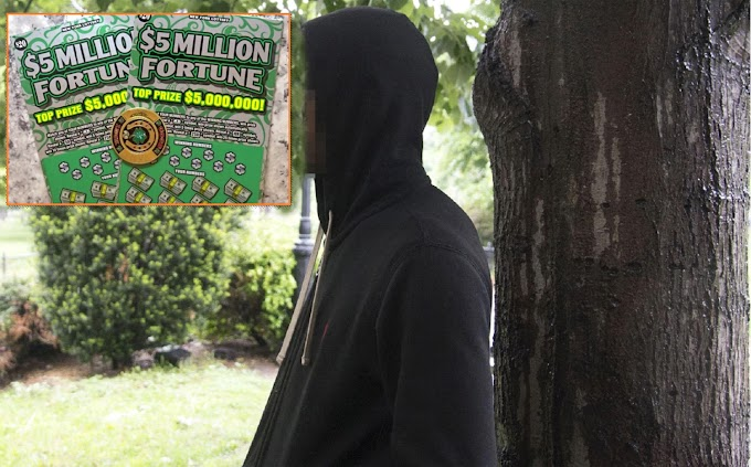 Mecánico desempleado ganador de US$5MM en lotería de NY se niega a dar la cara por temor a que lo atraquen