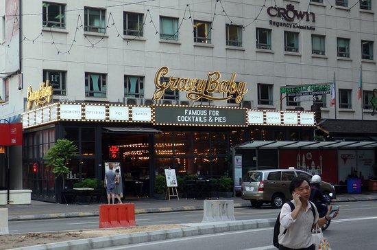 Makan di Restoran GravyBaby , Jalan P Ramlee, KLCC