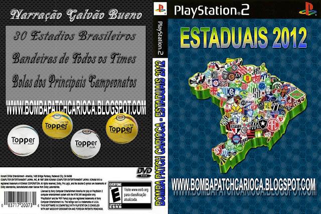 WE10 - Patch Estaduais 2012 - (PS2)