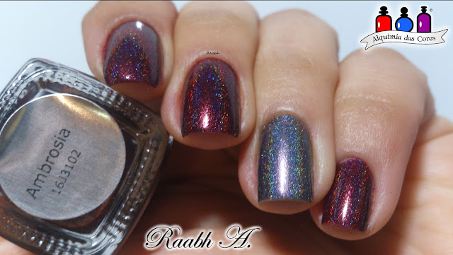 Cirque Colors Ambrosia, Cirque Holiday 2016 collection, Cirque Magnum Opus, Holográfico.