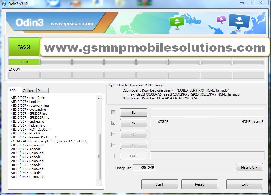 SM-G350E After Calling Restart Fix Official Firmware Stock Rom/Flash