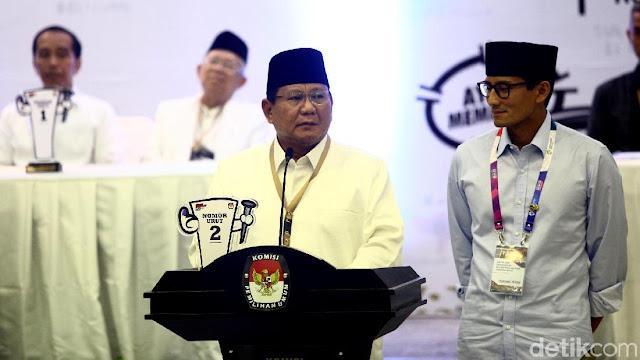 Tim Prabowo: Elektabilitas Jokowi di Survei Internal di Bawah 50%