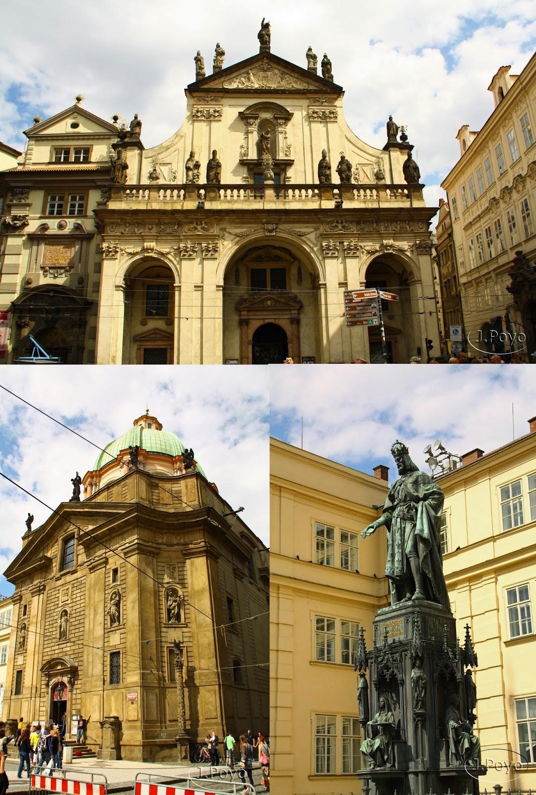 plaza de los Caballeros de la Cruz de Praga