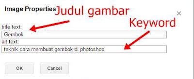 Cara Membuat Attribute Title Tag Pada Setiap Link