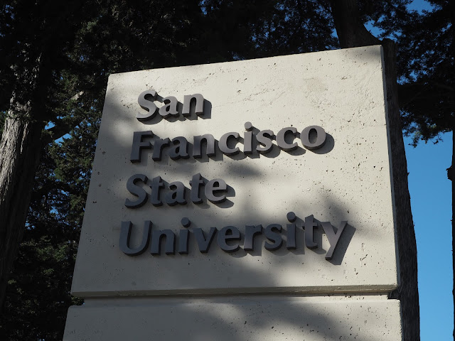 moje škole na příštího půl roku // my school for next half a year - San Francisco State University