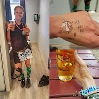 Berlinmarathon 2018 Finish Medaille Laufspatz.de