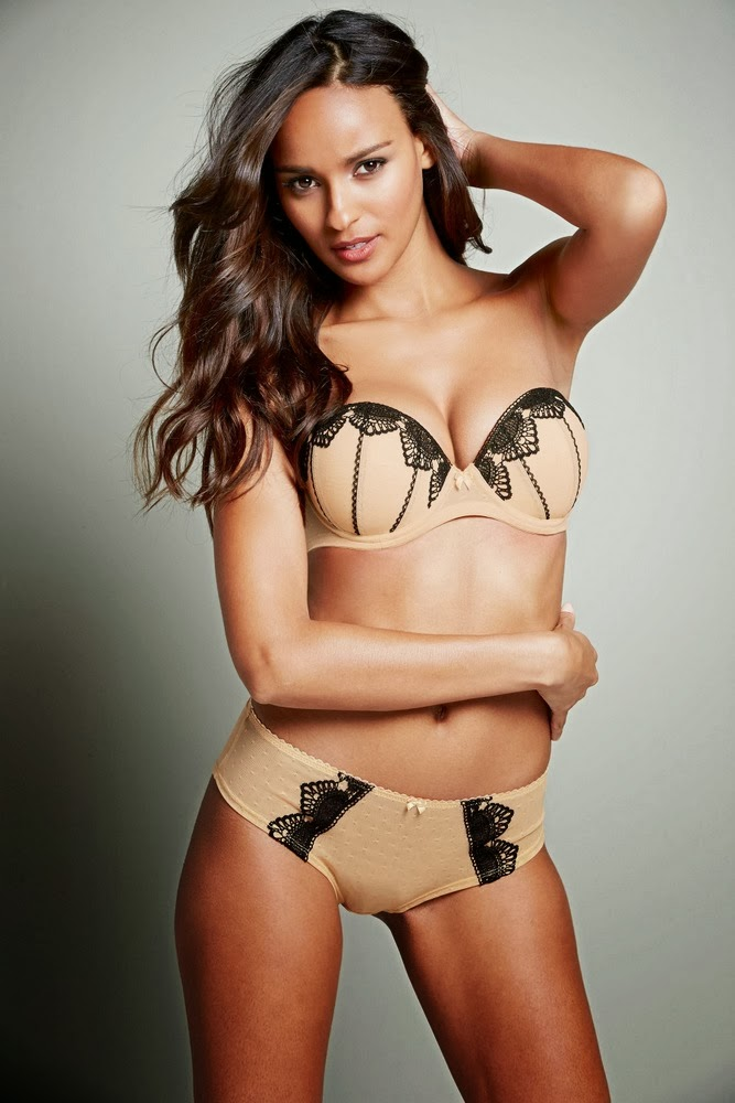 Gracie Carvalho - Next Lingerie Fall/Winter 2014