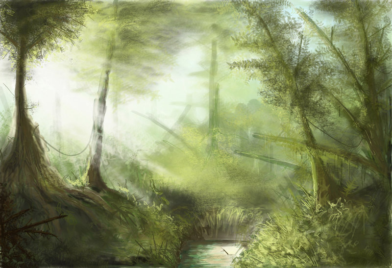 digital paintings scenery - photo #37