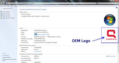 System Properties Windows 7
