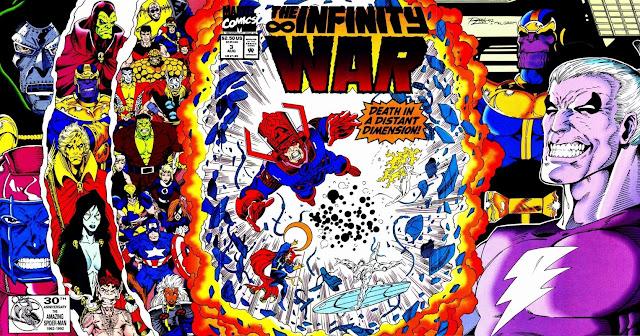 La Guerra del Infinito - Portada del Número 3
