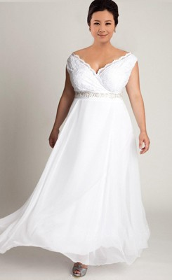 Wowing Busty Plus Size Bridal Gowns Wedding Dress