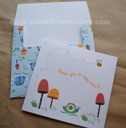 free fun thank you cards