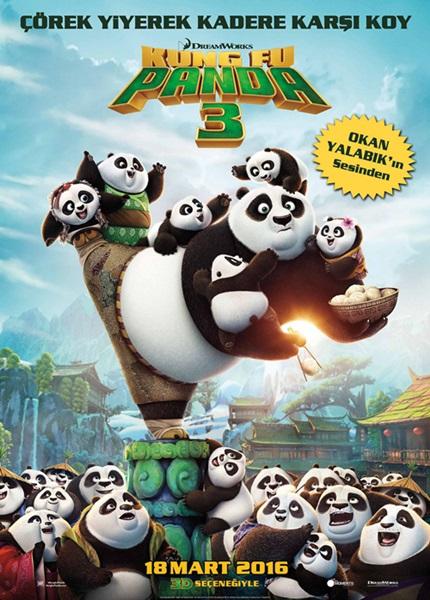 Kung Fu Panda 3 (2016) Film indir