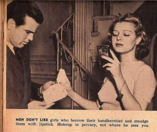 13 Hilarious and Sexist Dating Tips for Single Women from 1938