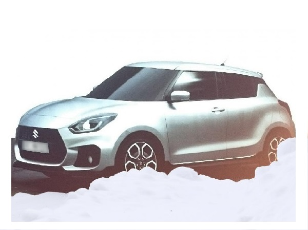 Maruti Suzuki Swift Facelift 2017