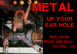 font metal band