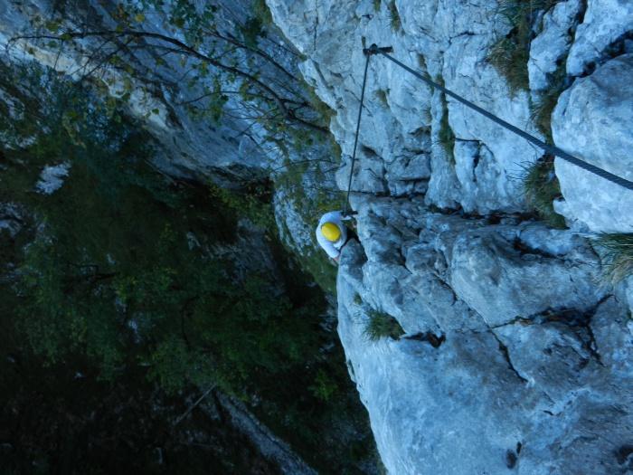 Klettersteig Drachenwand : Mal raus drachenwand klettersteig