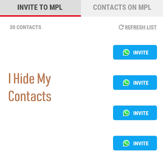 MPL App Refer And Earn Offer