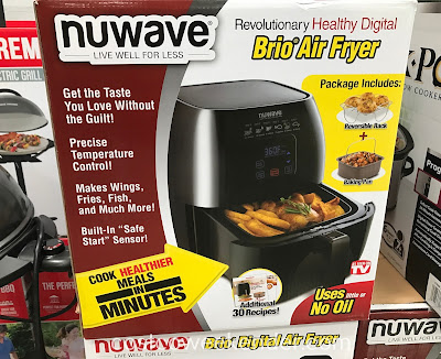 Nuwave Brio Digital Air Fryer: makes wings, fries, fish and much more!