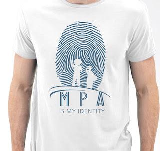 KAOS MPA IDENTITY COTTON PUTIH (MPA002) DEWASA