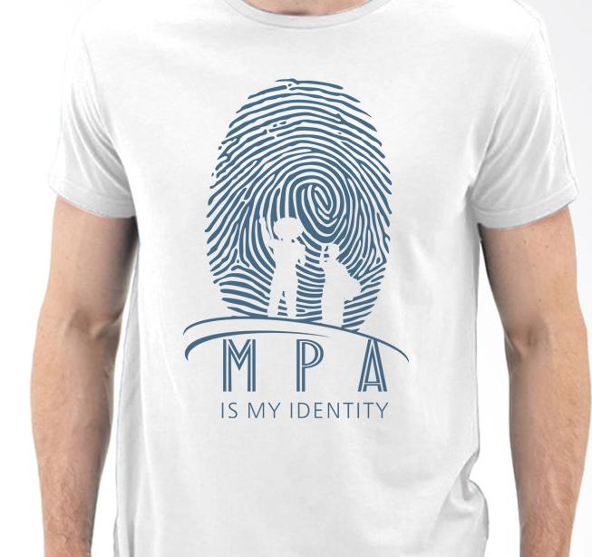 KAOS MPA IDENTITY COTTON PUTIH (MPA002)