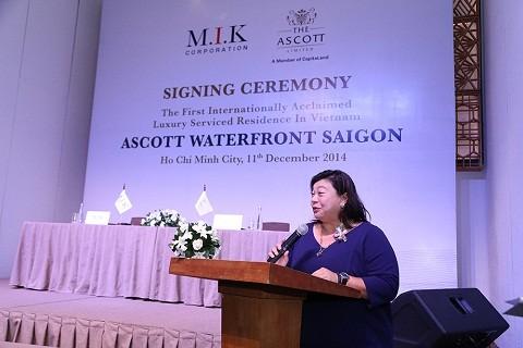 Bà Leow Siu Lin - Tổng Lãnh Sự Quán Singapore tại Việt Nam